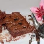 Brownies Oreo…                                             ed è subito l'ora di un break