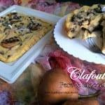 Clafoutis pere e cioccolato                                                             per  Re-Cake #08