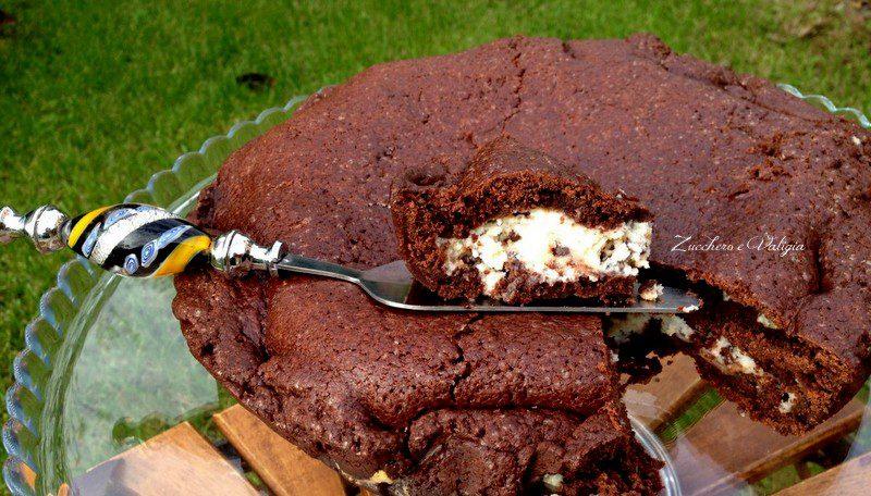 Crostata Morbida Al Cacao Con Mascarpone Ricotta E Gocce Di