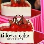 Evento con il Maestro Rinaldini #tilovvocake per San Valentino