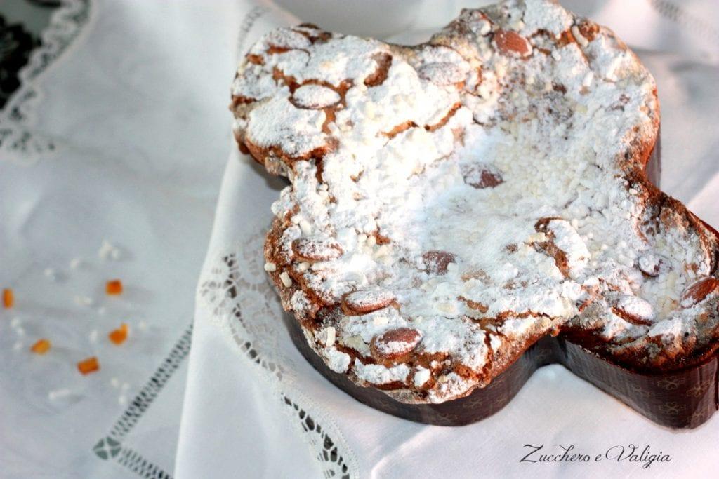 Colomba con gocce di cioccolato e arancia candita (Bimby)