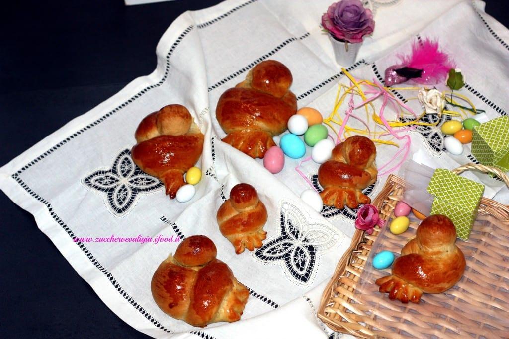 Colombine di pasqua pan brioche zuccheroevaligia
