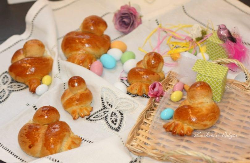 Colombine Di Pasqua Di Pan Brioche