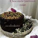 Torta cioccolato e barbabietola Chocolate beetroot cake per Re-Cake 2.0