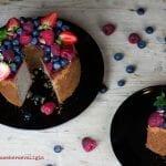 """Chiffon Cake in arte  """"Fluffosa"""" al Succo di Mirtillo"""