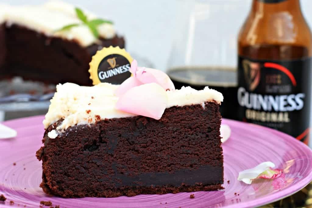 fetta guinness chocolate cake zuccheroevaligia
