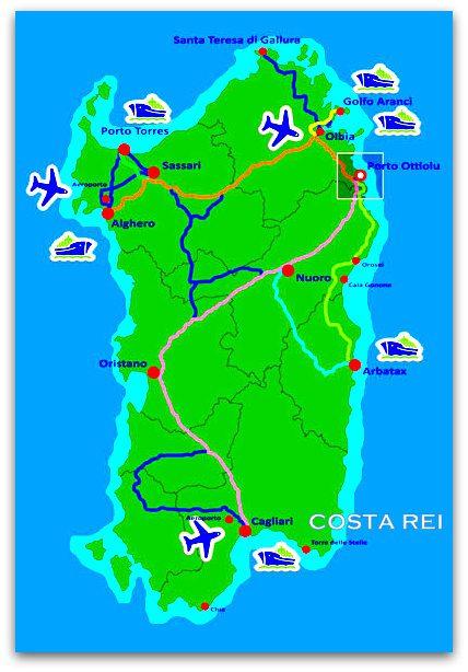 Cartina Sardegna Con Hotel.Sardegna Un Lungo Week End In Costa Rei Con Bimba Di 1anno E Mezzo
