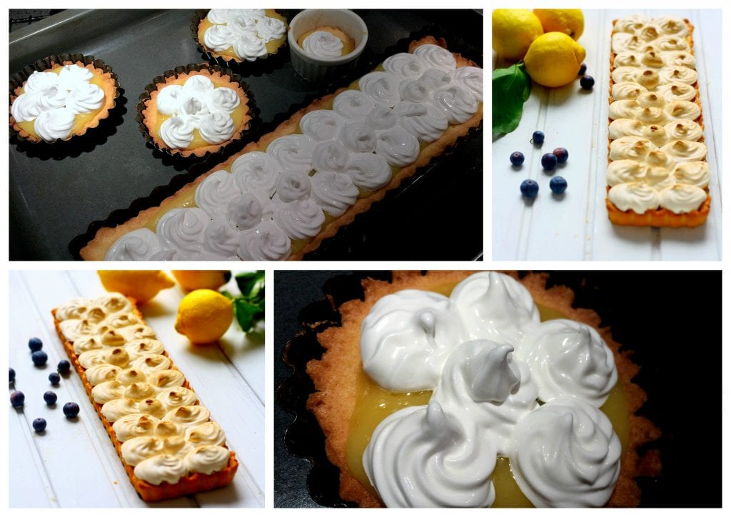 Step by step lemon meringue pie