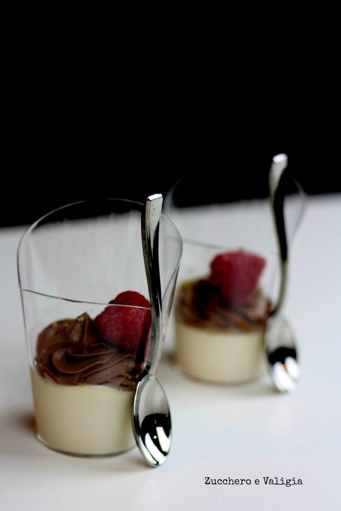 panna-cotta-e-mousse-al-cioccolato-e-lamponeShow cooking inaugurazione Scavolini Store di Carvico con panna cotta