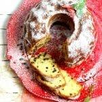 Ciambellone ricotta e gocce di cioccolato senza burro