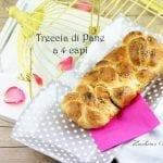 Treccia di pane a 4 capi
