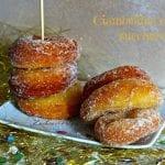 Ciambelline con lo zucchero