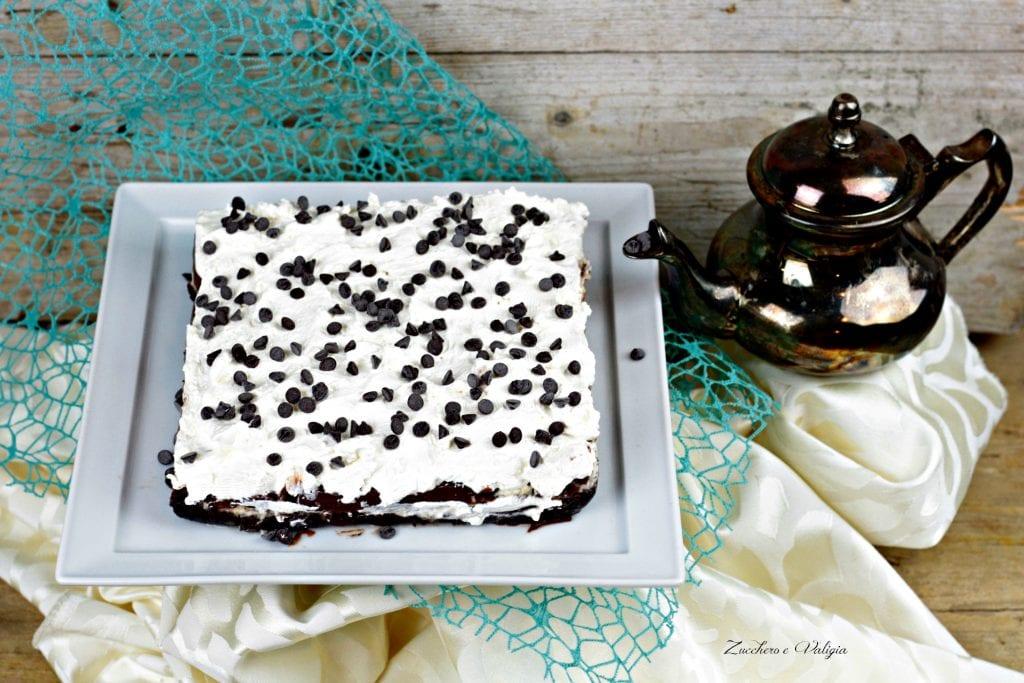 Semifreddo cioccolato e panna