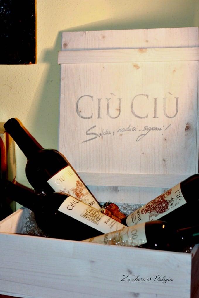Degustazione vini Ciù Ciù Offida