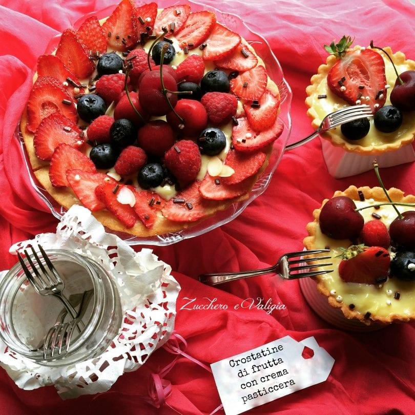 Antipasti Di Natale Montersino.Crostatine Di Frutta Fresca Con Crema Pasticcera Di Luca Montersino