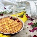 Crostata con Ricotta e aneto perfetta per una merenda di Pasqua
