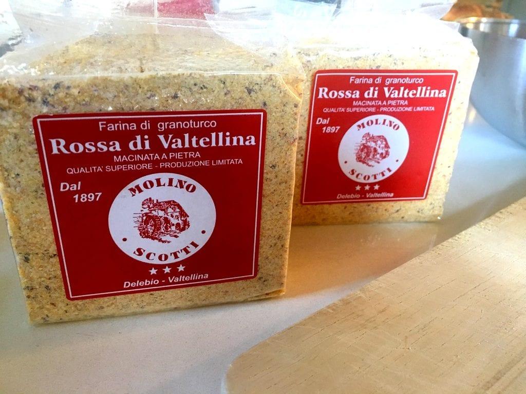 Farina di granoturco Rossa di Valtellina Molino Scotti & C Delebio