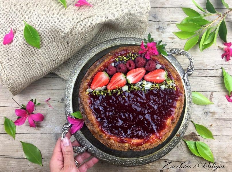 La Mia New York Cheesecake Preparata Con Il Bimby
