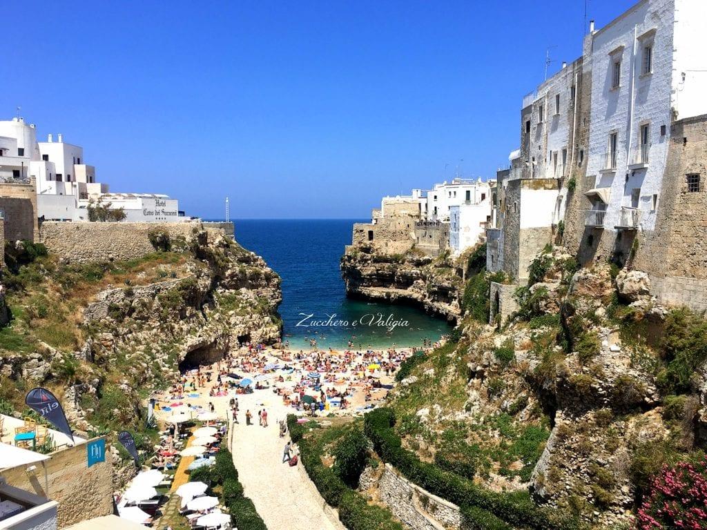 una giornata a Polignano a mare, la piccola perla nel blu dell'Adriatico