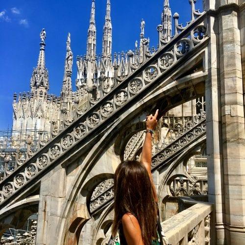 Un visita sopra le guglie del Duomo di Milano
