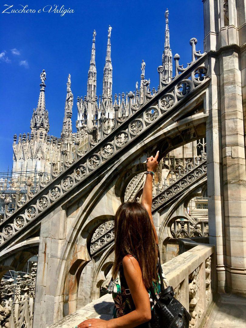 Un Visita Sopra Le Guglie Del Duomo Di Milano Zucchero E