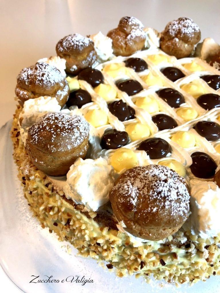 Come preparare la Torta sant' honoré con il Bimby