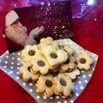 Biscotti di Natale Occhi di Bue