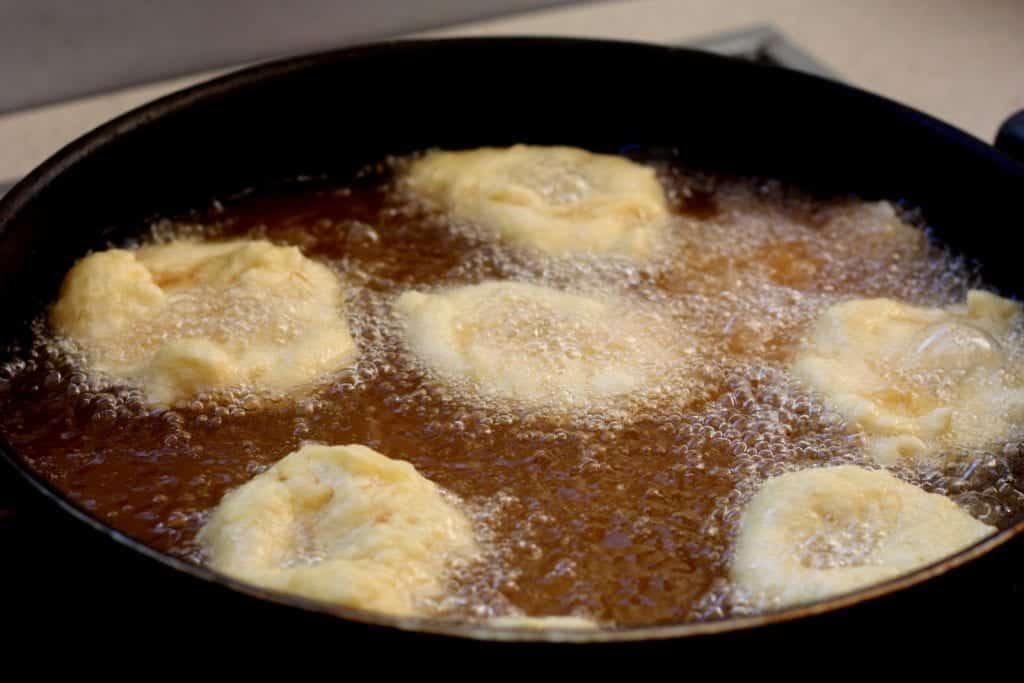 Zeppole calabresi fritte con patata
