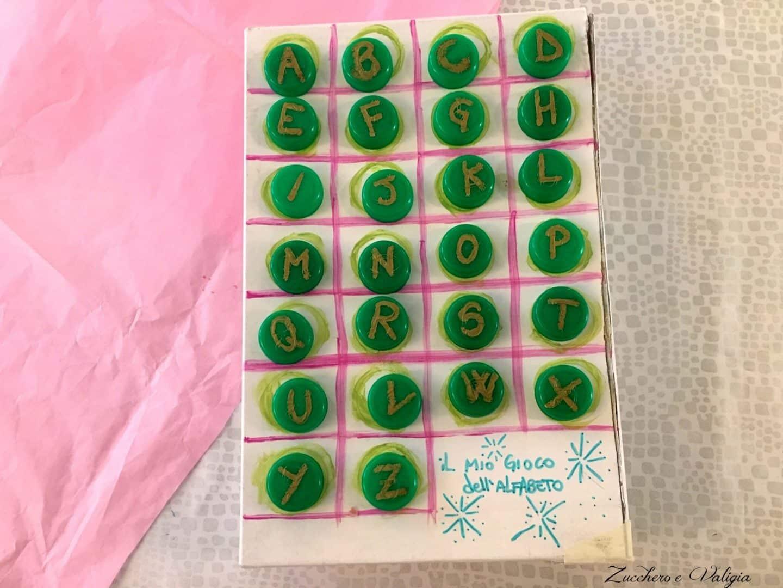 calzature vivido e di grande stile vendita outlet Come creare l'alfabeto con i tappi di bottiglia (per bambini ...