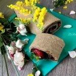 Come creare un rotolo decorato con nutella