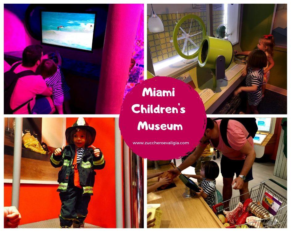 miami children's museum con i bambini
