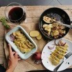 Pierogi polacchi con patate e ricotta per Polonia Travel