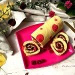 Rotolo alla nutella decorato (versione con bimby e non)