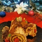 Tronchetto di Natale pasta biscotto bimby