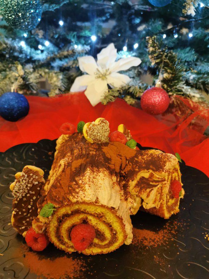 Tronchetto Di Natale Montersino.Tronchetto Di Natale Pasta Biscotto Bimby Zucchero E Valigia